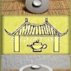 Gaiwan, 120ml, hellgaruer Ton, Innenglasur weiß, 2tlg. Set mit Teeschale, handgefertigt nach SiamTee-Spezifikationen von der niedersächsischen auf Teekeramik spezialisierten Töpfermeisterin Karina Klages