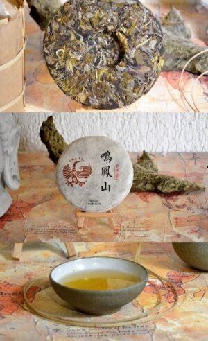 Ming Feng Shan Gushu Bai Lu Weisser Pu Erh Tee