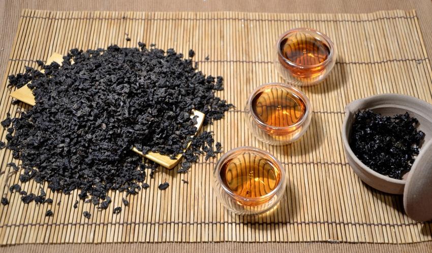 Tie Guan Yin Nonxiang Oolong Tee, Anxi County, Provinz Fujian, China
